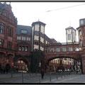 Frankfurt/M. - Innenstadt - Paulsplatz/Bethmannstr. -Nebengebäude des Römers