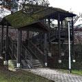 Frankfurt am Main - Sachsenhausen - ungewöhnliche Treppe