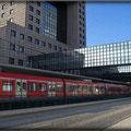 Frankfurt am Main - Gallus/Bockenheim - Emser Brücke - S-Bahn Station Messe