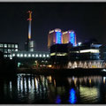 Frankfurt am Main - Gutleutvie​rtel - Westhafen by Night