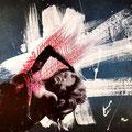 visite I mixed media, collage, 40x60 cm