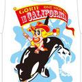 sandiego  記念Tシャツ03  シーワールドでは、シャチ乗り!