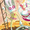 月のウサギはお先に未来へ ポスター