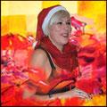 Andrea Weinke Groß Laasch Weihnachten mit dem Verein Groß Laasch Flexibel Porzellanbilder Grabbilder Tierfriedhof  Anhänger
