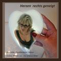 Herzen aus Porzellan, Grabschmuck, www.die-anderen-bilder.de