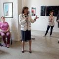 Das Grußwort spricht die Schirmherrin der Veranstaltung: Frau Ingrid Matthäus-Maier.