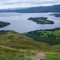 Loch Lomond vom Conic Hill aus gesehen