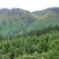 der Ben Nevis - mit 1.344m höchster Berg Schottlands - zeigt nur sehr selten seine ganze Schönheit