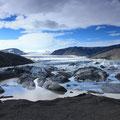 Gletscherlagune am Hoffellsjökull