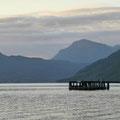 Abendlicht am Loch Lomond