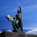 Ingólfur Arnarson - Statue in Reykjavík