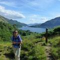 ein letzter Blick zurück zum Loch Lomond
