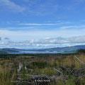 der Loch Lomond in der Ferne