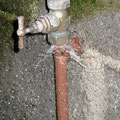 Fuite robinet extérieur
