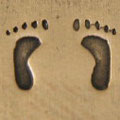 Babyfuß plastisch links oder rechts