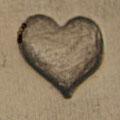 Herz groß plastisch