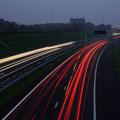 Lichtsporen op R73