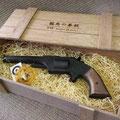 龍馬の拳銃 木箱(焼印)入り