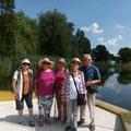... gemeinsamer Ausflug zur Gartenschau in Wassertrüdingen