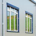 Formschön und unauffällig in die Fassade integriert
