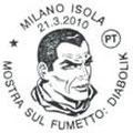 Annullo Poste Italiane 21/03/2010