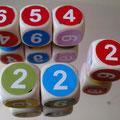 Stufe 3 nach Zahlen, Farben oder Kombination von beiden