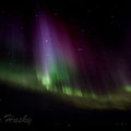 The appearance of northern lights depends on the sun activity