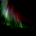 The aurora appears normally in 100-150 km height