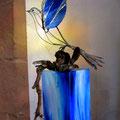 Friedenstaube ; Skulptur und Foto © Peter Diziol