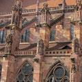 Wasserspeier am rechten Seitenschiff, Freiburger Münster