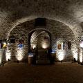 Gewölbe von 1800, Kunstraum Peter Diziol