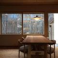 たも幅はぎ板 法華寺町の家 伏見建築事務所製