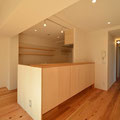 キッチン裏一体型収納 大和高田の家 伏見建築事務所製