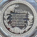 Miracle of Friendship crystal glass