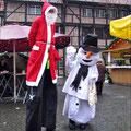 Auf dem Weihnachtsmarkt in Werne