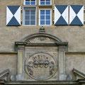 Wappen an der Hauptburg