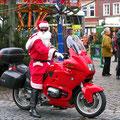 Auf dem Weihnachtsmarkt in Lüdinghausen