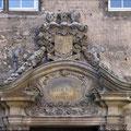 .Wappen am Eingang des Haupthauses vom Schloß Westerwinkel.