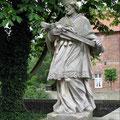 Der hl. Nepomuk  am Schloss Oberwerries