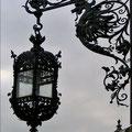 Barocke Laterne am Westflügel