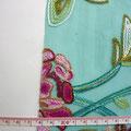 GP-T17-07 エメラルドチュールに多色刺繍
