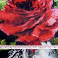 GP-T17-24 赤バラ大柄ピケ