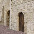 Festyland - Le Château ... fausses pierres de la façade