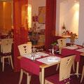 Restaurant Les Oliviers - La salle, le Mobilier