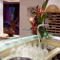 Restaurant Les Oliviers - Le Bar, la main à bière