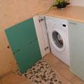 WASCHTISCH mit integrierter Waschmaschine