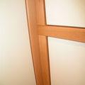 Garderobe Buche Massivholz mit Lack weiß Front