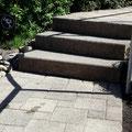 Treppe/Steine neu anpassen korrigieren
