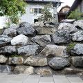 Burchsteinmauer wild