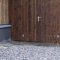 Platten-Erweiterung, Blockstufe, Granitweg zum Schopf, Schopfboden mit wildem Granit